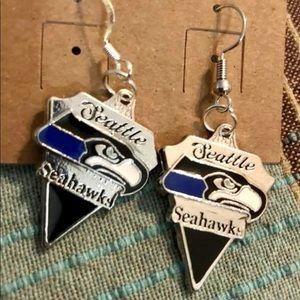 Beautiful Seattle Seahawks Earrings